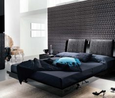 black and white master bedrooms decoration theme