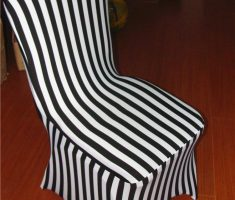 black and white strippes folding chair covers spandex