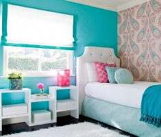 blue charm girls bedroom furniture for small space