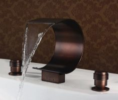 bronze modern bathroom faucets design