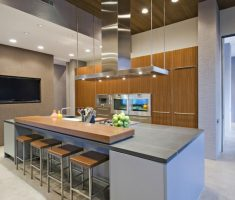 captivating modern small kitchen with island