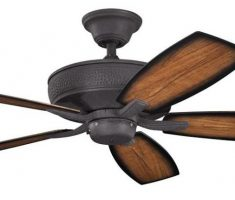 clasical ceiling fans with lights by kichler