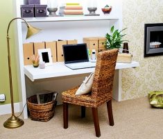 classical floor light shade designs for small home office