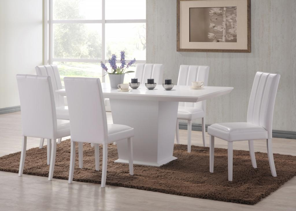 comfortable-white-dining-table-and-6-chairs
