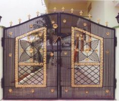 cool front gate designs