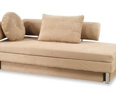cozy russet sleeper small sofa bed