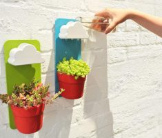 creative diy rainy modern pots