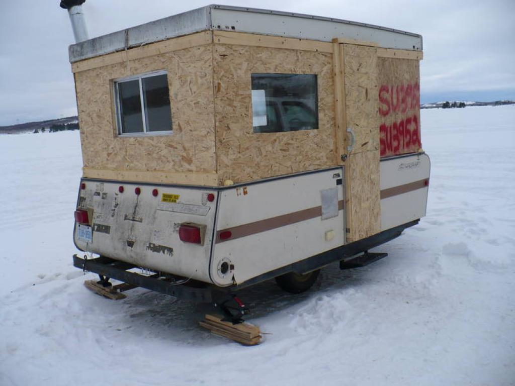 Photo Portable Ice House Plans Images Plans To Build A