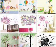custom cute removable wall decals inspirations