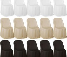 custom folding chair covers white ivory black