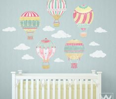 cute air ballons for removable wall decals inspirations