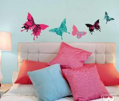 cute butterflys for removable wall decals inspirations