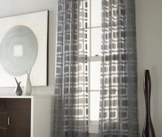 cute grey modern window treatments curtain