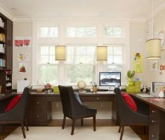 cute tiny drum formed chandelier light shade designs for home office
