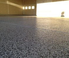 diy epoxy garage floor for protection
