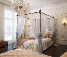 diy romantic modern canopy beds