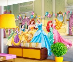 disney wallpaper for bedrooms.  disney princess bedroom wallpaper wall decor chinderella white snow and more