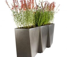 elegant modern garden pots for outdoor and indoor