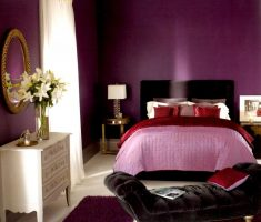 elegant purple and pink master bedrooms decoration colors