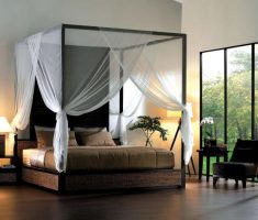 elegant romantic canopy bed for modern black canopy beds
