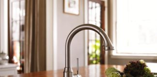 elegant-simple-kohler-kitchen-faucets-design