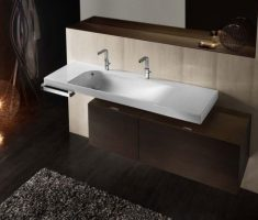 elegant unique modern undermount bathroom sinks