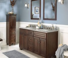 elegant wooden traditional bathroom designs vanity