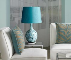 enchanting blue diy table lamps for living room