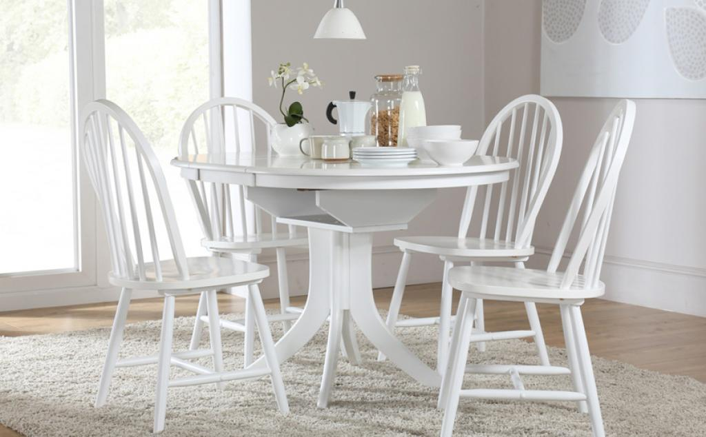 Captivating white dining table and chairs inspirations for White dining table and 4 chairs