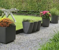 enchanting modern garden pots for outdoor with small space