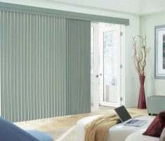 enchanting modern grey curtain for window treatments for sliding glass doors