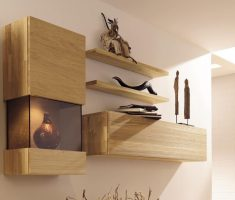 enchanting wooden hangign wall mount shelf design for decor