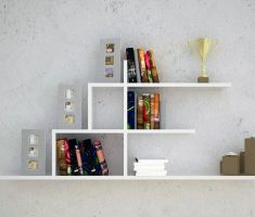 ergonomic wall mount shelf design