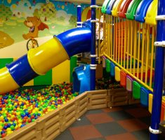 exciting kids indoor playground