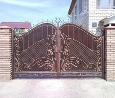 fabulous design for front gate designs with floral carving