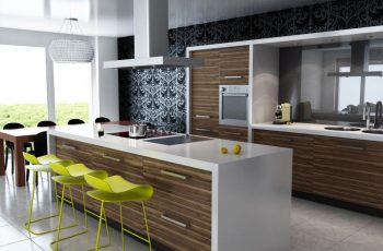 fabulous-modern-small-kitchen-with-island-and-unique-chairs