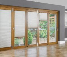 five sides sliding curtain for window treatments for sliding glass doors