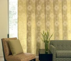 floral curtain for window treatments for sliding glass doors