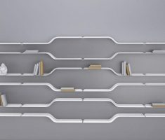 futuristic wall mount shelf design inspiratiions