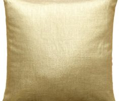 gold throw pillow covers design