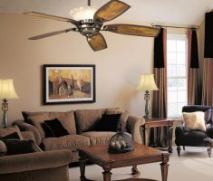 gole country ceiling fans with lights by kichler