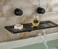 good looking modern bathroom wall faucets
