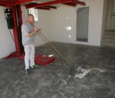 how to garage floor cover coating