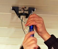 how to install a ceiling fan 1