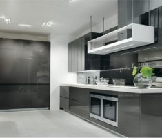 ikea kitchen cabinets grey themed