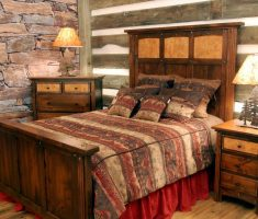 interesting diy rustic bedroom furniture for small space