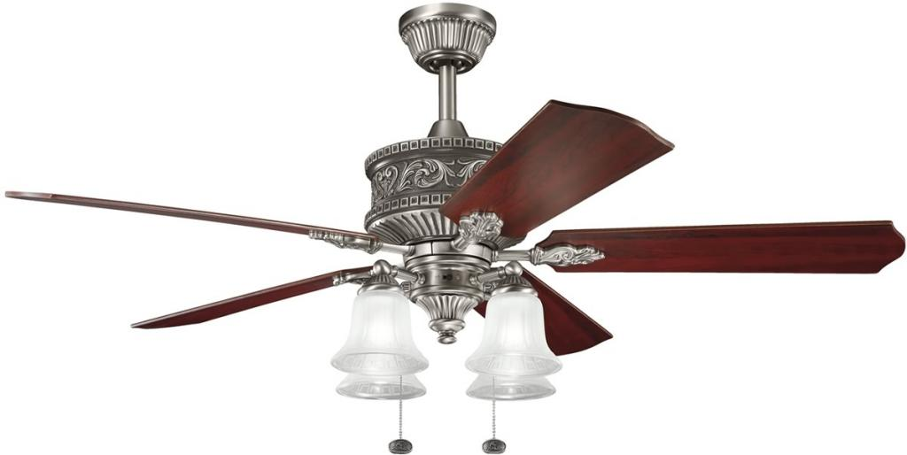 20 Beautiful Ceiling Fans With Lights By Kichler