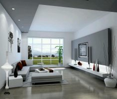 luxurious modern white paint colors for living room with grey furniture