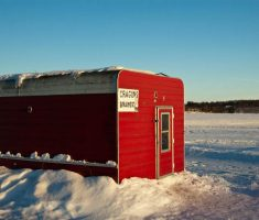 medium size of shanty ice fishing house