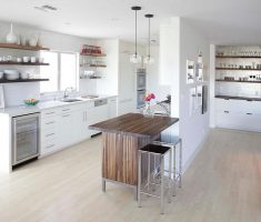 mesmerizing modern small kitchen with small island